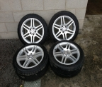 "Genuine set (4) 17"" Mercedes AMG Alloy wheels"