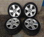 "Genuine Set (4) 17"" Volkswagen Passat Sport Alloy Wheels"