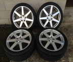 "Genuine Set (4) 18"" Mercedes AMG Alloy wheels"