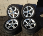 "Genuine Set (4) 17"" BMW Sport Alloy Wheels"