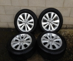 "Genuine set (4) 16"" BRAND NEW Volkswagen Golf MK7 Alloy wheels"