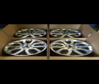 "Genuine Set (4) Range Rover 22"" alloy wheels Style 6"
