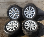 "Genuine Set (4) 15"" Volkswagen Golf  &#39match&#39  Alloy Wheels"