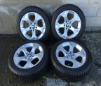 "Genuine Set (4) 17"" BMW X1  Alloy Wheels"