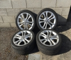 "Genuine Set (4) 18"" Audi S4 Alloy wheels"