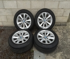 "Genuine Set (4) 17"" BMW F10 SE Alloy Wheels"
