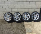 "Genuine Set (4) 19"" BMW 5 Series M Sport 351 Alloys BRAND NEW"