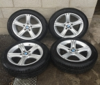 "Genuine Set (4) 17"" BMW Sport Alloy Wheels F30"