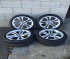 "Genuine Set (4) 18"" Audi S5  alloy wheels"