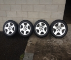"Genuine Set (4) Audi 16"" Quattro alloy wheels"