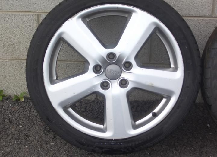 genuie  alloy wheels ireland audi rs