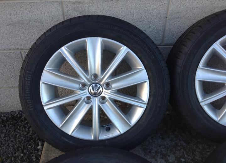 "Used Vw Golf >> Genuine used alloy wheels ireland - volkswagen polo 15"" alloys"