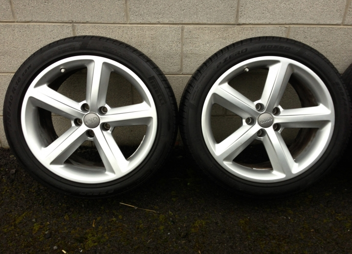 Genuine Used Alloy Wheels Ireland Audi 18 Quot S Line Alloy
