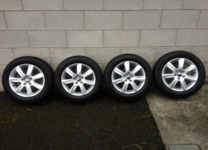 Used Alloy Wheels Ireland Genuine Volkswagen Polo 15 Quot Alloys