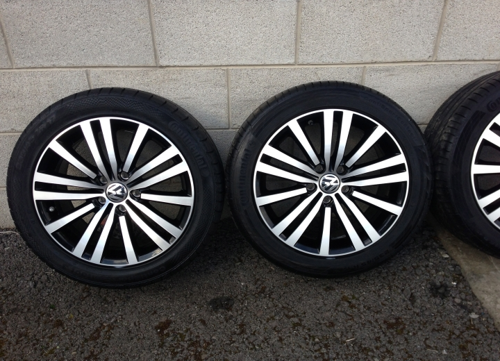 Used Alloy Wheels Ireland Volkswagen Passat Sport Alloy