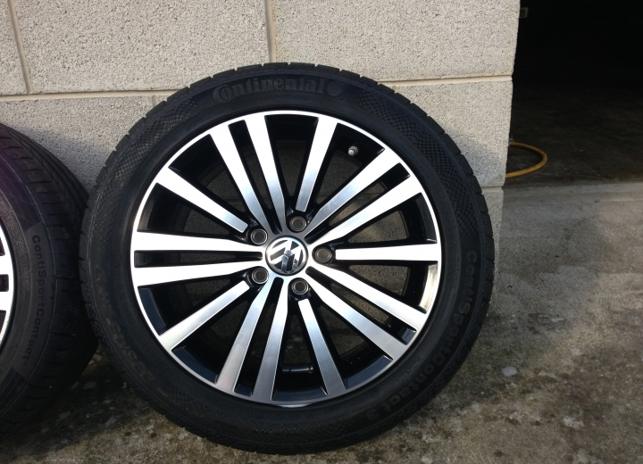 Used Alloy Wheels Ireland Volkswagen Passat Sport Alloy
