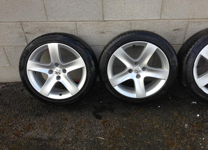 Used Alloy Wheels Ireland Genuine Peugeot 17 Quot Alloy Wheels
