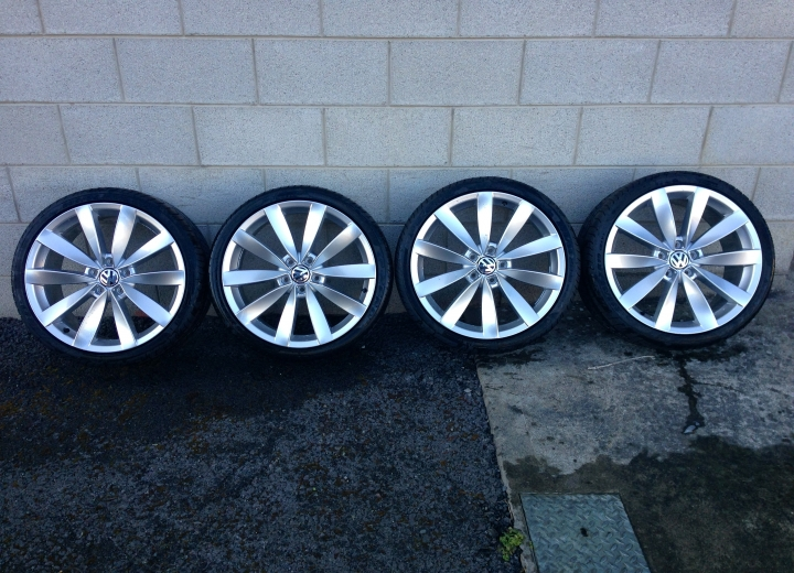 Used Alloy Wheels Ireland Volkswagen Lugano 19 Quot Alloys