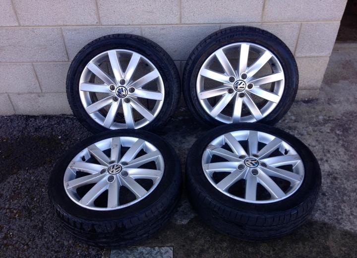 Used Alloy Wheels Ireland Volkswagen Golf Alloys