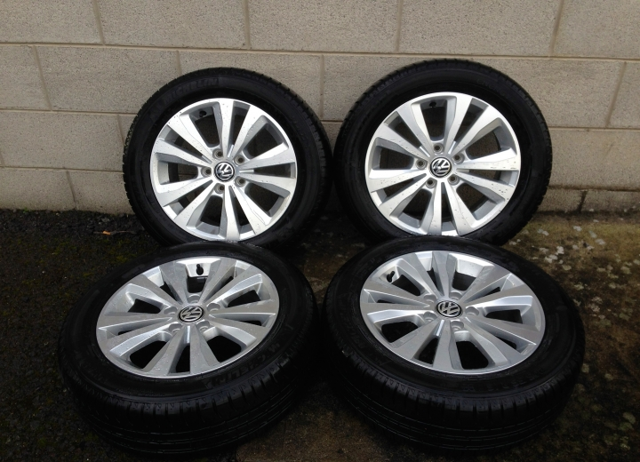 Used Alloy Wheels Ireland 16 Quot Volkswagen Alloys With Tyres
