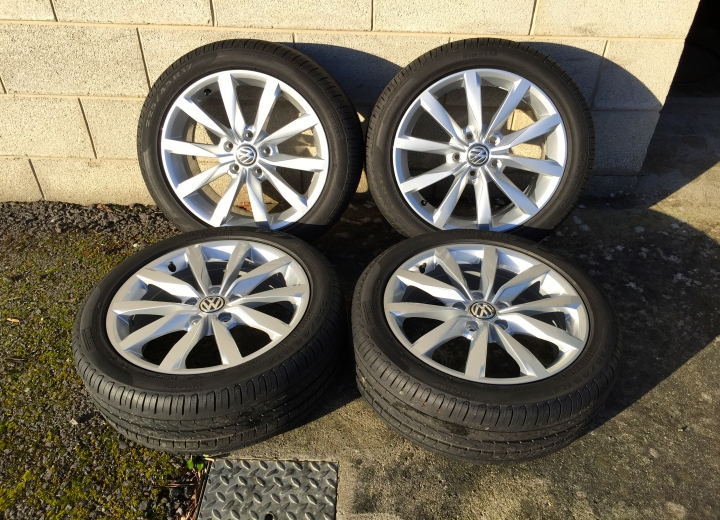 Used Alloy Wheels Ireland Genuine Volkswagen Mk7 Alloys