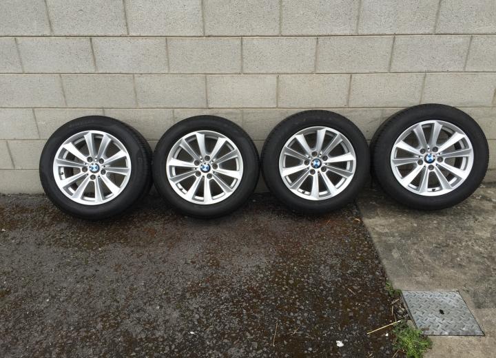 Used Alloy Wheels Ireland Genuine Bmw 17 F10 Alloys