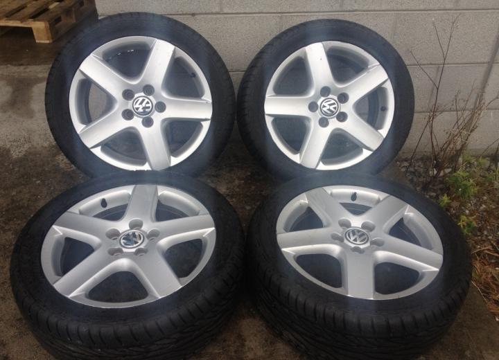 Genuine Volkswagen Alloy Wheels